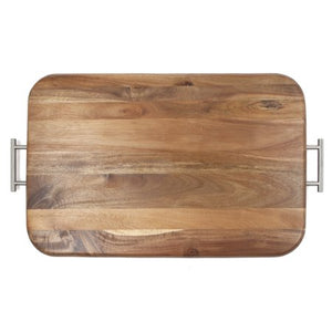 Serving Tray, Acacia Wood - EK CHIC HOME
