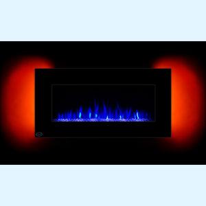 "39"" Adjustable Electric Fireplace Heater - EK CHIC HOME"