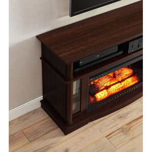 "Media Fireplace for TVs up to 45"" - EK CHIC HOME"