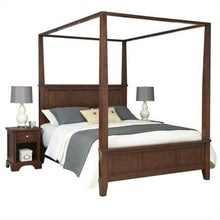 Load image into Gallery viewer, King Canopy Bed and 2 Night Stands - EK CHIC HOME
