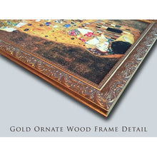 Load image into Gallery viewer, 22x40 Large Gold Ornate Wood Framed Canvas Art - EK CHIC HOME