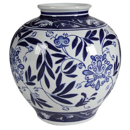 Blue and White Porcelain Vase - EK CHIC HOME