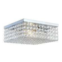 Load image into Gallery viewer, Elipse Square Flush mount - EK CHIC HOME