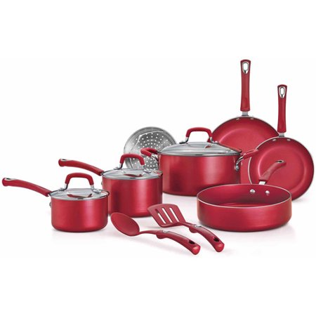 12-Piece Style Nonstick Cookware Set - EK CHIC HOME