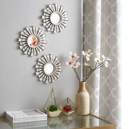 3 Pack Wavy Decorative 10