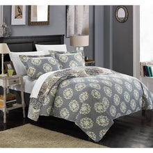Load image into Gallery viewer, Chic Home 3-Piece Boho Quilt Set - EK CHIC HOME