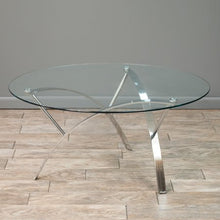 Load image into Gallery viewer, Noble Round Glass Coffee Table - EK CHIC HOME