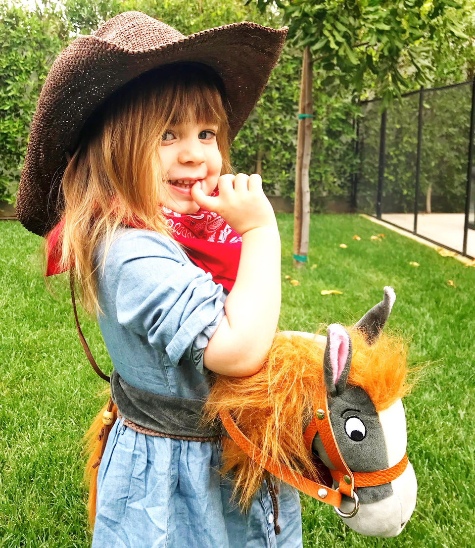 cowgirl on Papap Pony Toddler