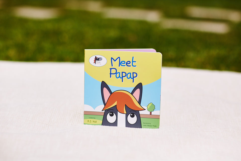 Award-winning Meet Papap Book