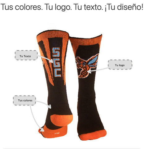 Diseño Calcetines Sports Zona
