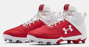Botas béisbol moldeados Under Armour Leadoff_Rojo_39_sports zona