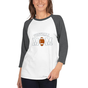 Camiseta Football Conmemorativa Mom_Blanco/Carbón jaspeado_XS_sports zona