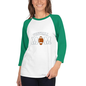 Camiseta Football Conmemorativa Mom_Blanco/Kelly_XS_sports zona