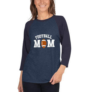 Camiseta Football Conmemorativa Mom_Denim jaspeado/Marino_XS_sports zona