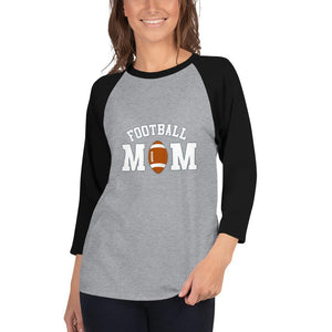 Camiseta Football Conmemorativa Mom_Gris jaspeado/Negro_XS_sports zona