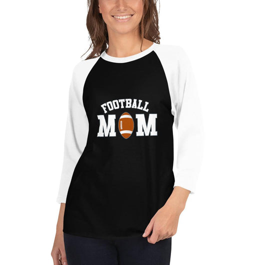 Camiseta Football Conmemorativa Mom_Negro/Blanco_XS_sports zona