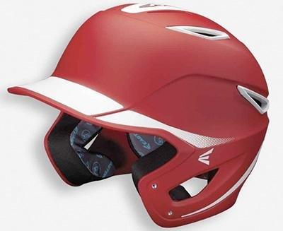 Casco de Béisbol Easton Z6 Two-ToneRojo7-1 / 8 a 7-1 / 2 SeniorSports Zona