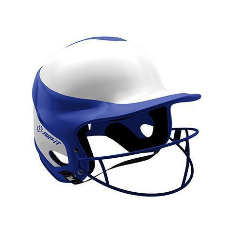 Casco de Sóftbol Femenino RIP-IT Pro HomeSGloss-Azul-HomeSports Zona