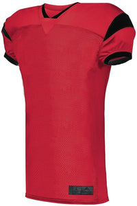 FOOTBALL JERSEY SLANT_Rojo / Negro_S_Sports Zona
