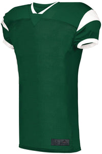 FOOTBALL JERSEY SLANT_Verde / Blanco_S_Sports Zona