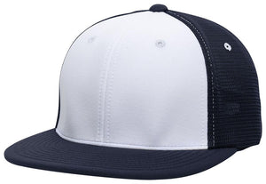 GORRA BÉISBOL ES341 M2 TRUCKER FLEXIBLE ®_Blanco / Navy / Navy_S/M_sports zona