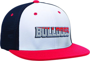 GORRA BÉISBOL ES341 M2 TRUCKER FLEXIBLE ®_Blanco / Navy / Rojo_XS_sports zona