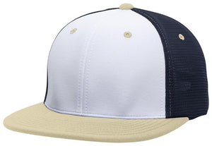 GORRA BÉISBOL ES341 M2 TRUCKER FLEXIBLE ®_Blanco / Navy / Vegas_XS_sports zona