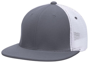 GORRA BÉISBOL ES341 M2 TRUCKER FLEXIBLE ®_Grafito / Blanco / Grafito_XS_sports zona