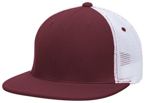 GORRA BÉISBOL ES341 M2 TRUCKER FLEXIBLE ®_Marron / Blanco / Marrón_XS_sports zona