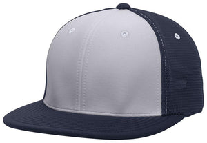 GORRA BÉISBOL ES341 M2 TRUCKER FLEXIBLE ®_Plata / Navy / Navy_XS_sports zona