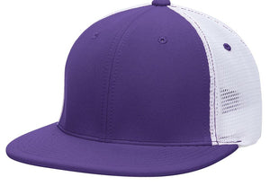 GORRA BÉISBOL ES341 M2 TRUCKER FLEXIBLE ®_Purpura / Blanco / Purpura_XS_sports zona