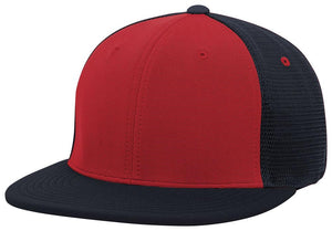 GORRA BÉISBOL ES341 M2 TRUCKER FLEXIBLE ®_Rojo / Navy / Navy_XS_sports zona