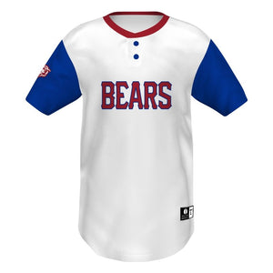 Holloway Jersey De Béisbol Dos Botones_All-Over Pattern__Sports Zona