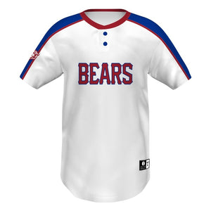 Holloway Jersey De Béisbol Dos Botones_Classic Color Block__Sports Zona