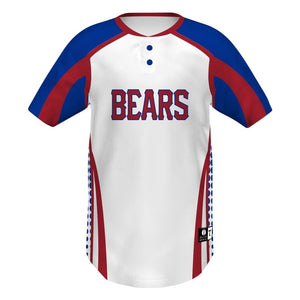 Holloway Jersey De Béisbol Dos Botones_Full Count__Sports Zona