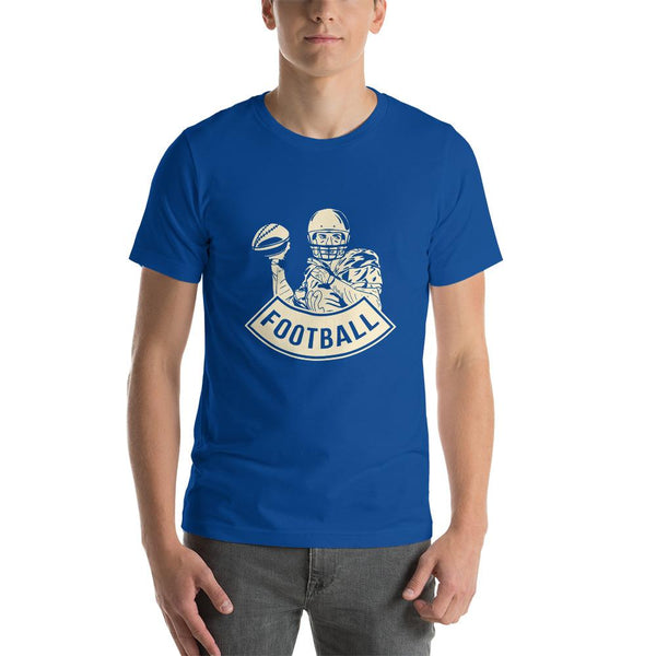 Camiseta de Football PlayerAzul real claroSSports Zona