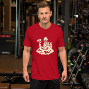 Camiseta de Football Player_Rojo_S_Sports Zona