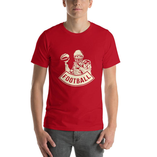 Camiseta de Football PlayerRojoSSports Zona