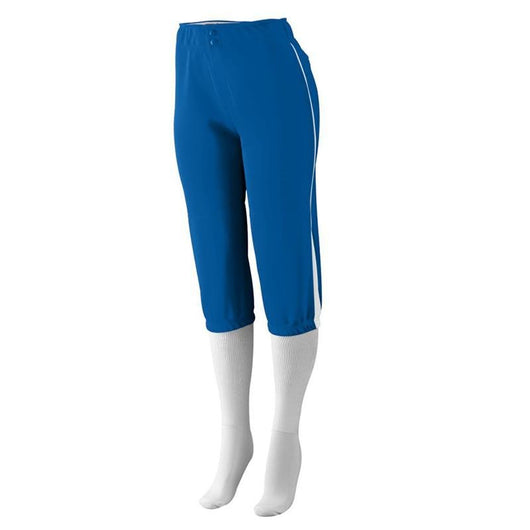 PANTALON SOFTBALL LOW RISE DRIVE MUJER_Azul / Blanco_S_Sports Zona