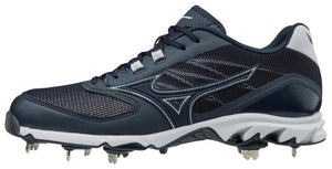 Zapatillas Spike Béisbol Mizuno 9_Navy / Negro_US 8 / EU 40.5_sports zona