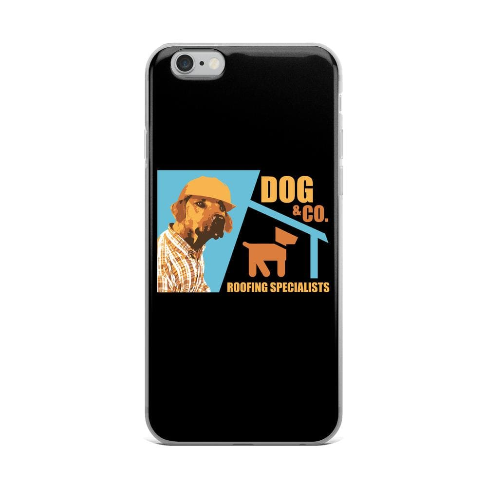 Dog & Co. Roofing Specialist iPhone Case