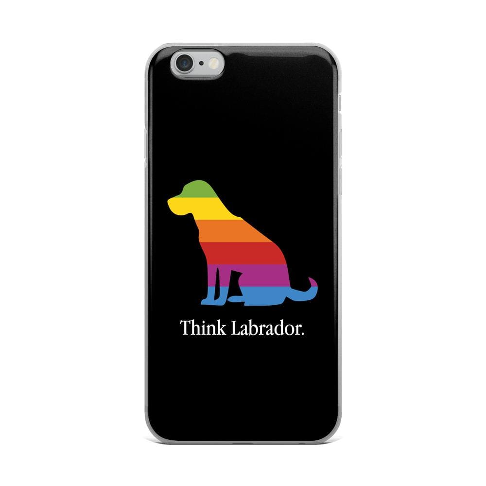 Think Labrador iPhone Case