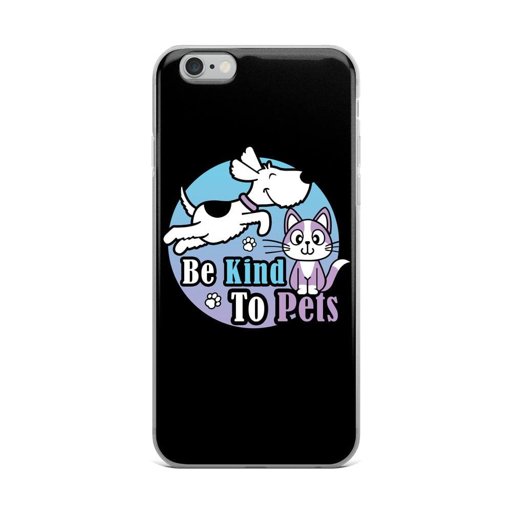 Be Kind To Pets iPhone Case