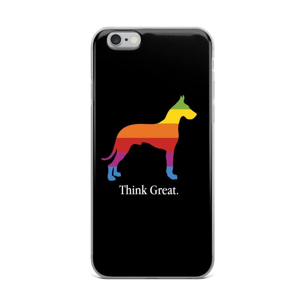 Think Great iPhone Case