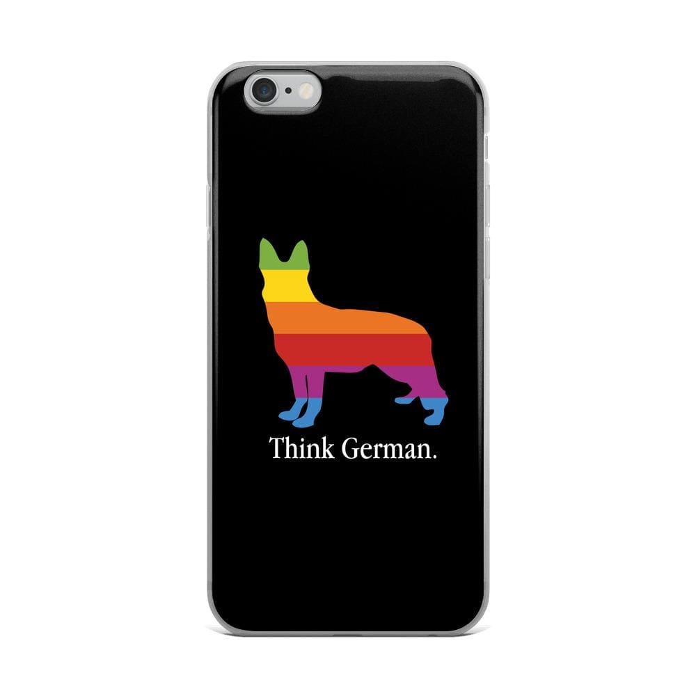 Think German iPhone Case