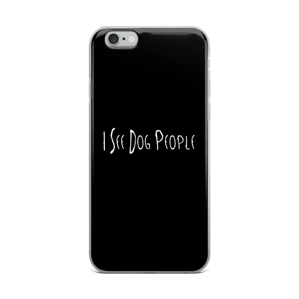 I See Dog People iPhone Case