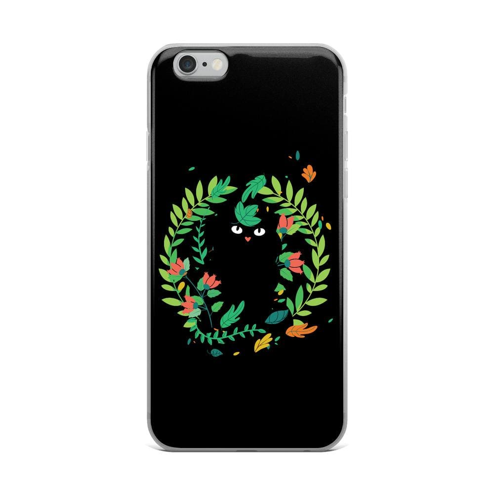Black Cat iPhone Case
