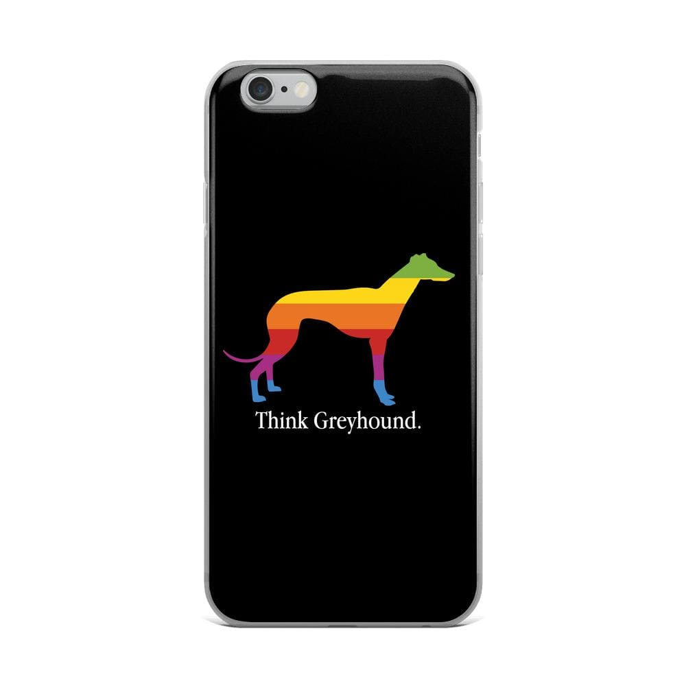 Think Greyhound iPhone Case