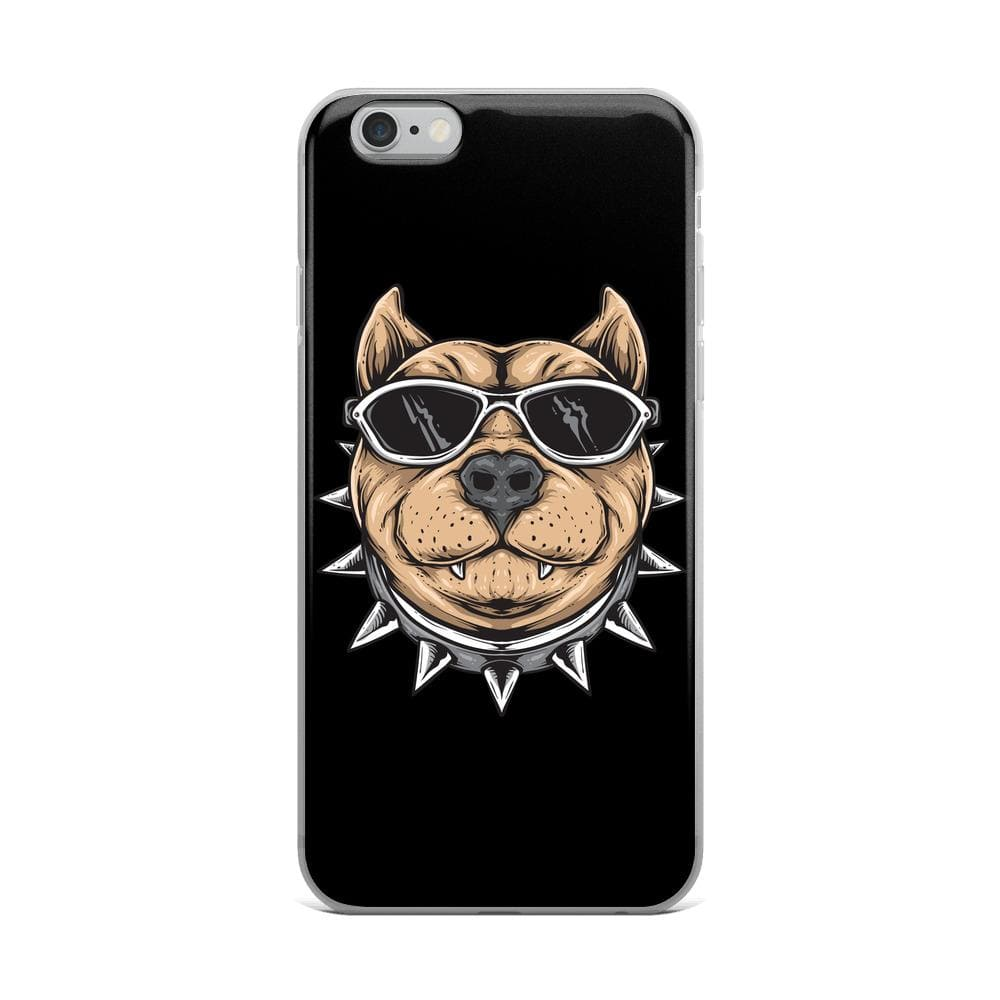 Funky Cool Bulldog iPhone Case