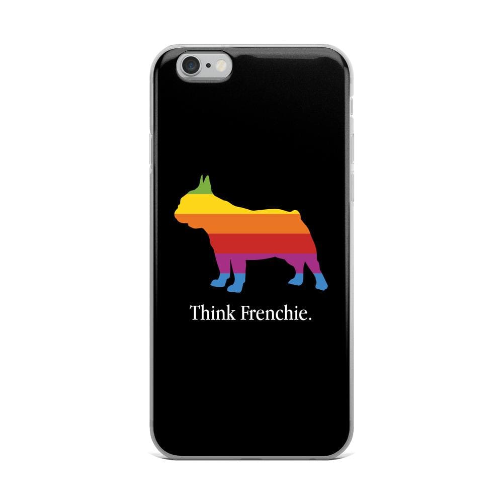Think Frenchie iPhone Case